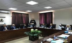 الدكتور عصام الكردي ممثلا للجامعات المصرية فى اجتماع مجلس إدارة الجودة والاعتماد بالأردن