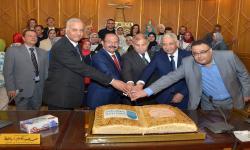 مجلس الدراسات العليا والبحوث يحتفل بتكريم الدكتـور صديق عبد السلام بمناسبة بلوغه السن القانونية للمعاش