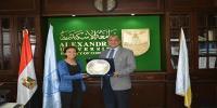 طالبة بكلية التجارة تفوز بالمركز الأول في ماراثون رياضي بجامعة الاسكندرية