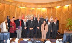 جامعة الاسكندرية تستقبل رئيس الوكالة الفرانكفونية للجامعات