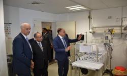 افتتاح عدد من الوحدات بمستشفى سموحة التخصصي الجامعي للأطفال