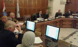 مجلس شئون التعليم والطلاب يناقش ضوابط امتحانات الفصل الدراسي الثاني
