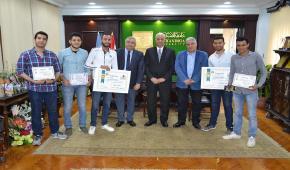 جامعة الاسكندرية تكرم طلاب