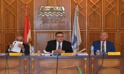 جامعة الاسكندرية تناقش الاعداد المقترحة للمقبولين بالكليات في العام المقبل