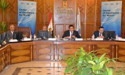 جامعة الاسكندرية تستعرض مهام مركز التميز في مجال أبحاث ودراسات المياه