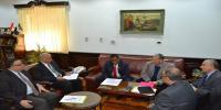 El-Kurdi receives the Tanzanian ambassador in Cairo