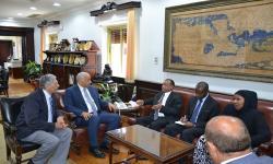 جامعة الاسكندرية تستقبل السفير التنزاني
