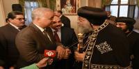 رئيس جامعة الاسكندرية يهنىء البابا تواضروس بعيد الغطاس