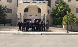 الدكتور عصام الكردي يشارك فى اجتماع الأمانة العامة لاتحاد الجامعات العربية
