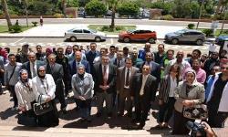 افتتاح اليوم الرياضي للجامعات المصرية