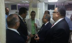 وزير التعليم العالي يتفقد المستشفيات الجامعية في أول أيام عيد الأضحى المبارك