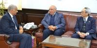Dr. El-Kurdi receives the President of E-JUST